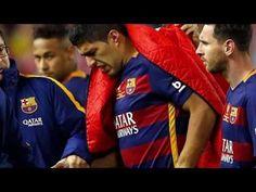 confirman una lesión muscular a Luis Suárez│Suárez sale lesionado de la ...