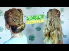 MEDIUM SHORT HAIRSTYLE 2 CUTE CORSET BRAIDED HAIRSTYLES   Awesome Hairst...