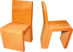 Frank Gehry dining chairs 1972