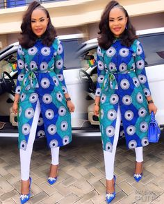 is an African fashion and lifestyle website that showcase trendy styles and designs, beauty, health, hairstyles, asoebi and latest ankara styles. Trendy Ankara Styles, African Print Dresses, African Dress, African Prints, African Fabric, Ankara Tops, African Clothes, Ankara Fabric, Dressy Outfits