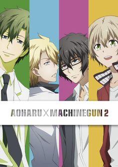 Aoharu x kikanjuu ☆ I Love Anime, Anime Guys, Manhwa, Aoharu X Machinegun, Anime Recommendations, Anime Lindo, Supernatural Memes, Anime Angel, Pretty Men