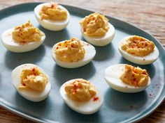Classic Deviled Eggs recipe from Chic & Easy via Food Network