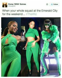 "and take TV watching up a notch with their hilarious memes about ""The Wiz Live! Black Girl Magic, Black Girls, Black Women, Most Hilarious Memes, Funny Memes, Jokes, Estilo Beyonce, Beyonce Memes, Divas"