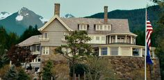 The Proposal movie house in Sitka Alaska which is actually in Manchester, MA which is a 40 minute drive north of Boston.  They added the mountains, leaves, totem poles and stones to make it look more like a house in Alaska.