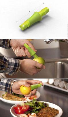 Lemon juice extractor Via TechEBlog #kitchen #product