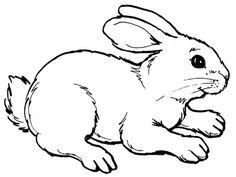 bunny cutouts to print free | ... print a larger image or click ...