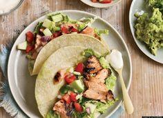 Hello chipotle salmon tacos