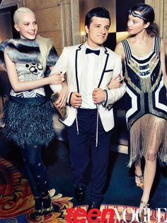 "more of Josh Hutcherson's Teen Vogue ""Prom"" shoot"