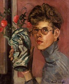 Sel-portrait, c.1930 by Carel Weight (1908-1997)
