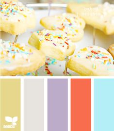 If you take out the first one and add the last one (maybe?), this is my master bedroom color palette!