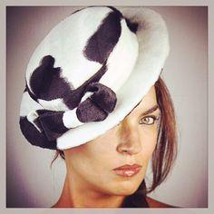 MILLINERY BY V.NERUM.     #hat #headpiece #fedora