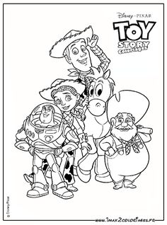 Free Printable Toy Story Coloring Pages For Kids | TSS | Pinterest ...