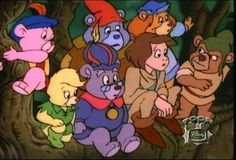 I loved this show. Gummi bears bouncing here and there and everywhere.