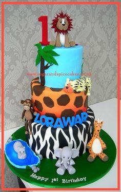 Jungle Cake http://www.sugarandspicecakes.co.nz/