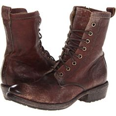 Frye Boots, Carson Lug Lace Up.