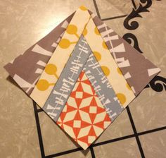 An easy paper piecing method that won't make you want to pull your hair out!