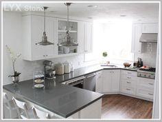 Engineered Stone Grey Quartz Countertops