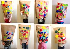 les petites têtes de l'art: Masques...sur une idée de Miopop-up Art Class Posters, Kids Workshop, Art For Kids, Kid Art, Art Plastique, Homeschool, Crafty, School Ideas, Classroom Ideas