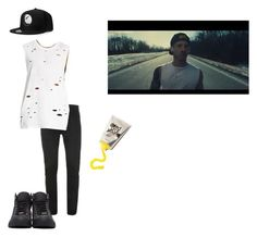 josh dun - heavydirtysoul music video by twenty-one-pilots-outfits on Polyvore featuring polyvore 21 Men Jimmy Choo fashion style clothing