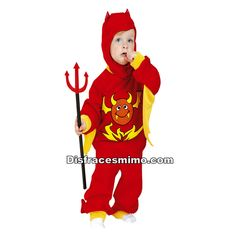 disfraz de diablillo rojo infantil - DisfracesMimo Baby Halloween Costumes, Ronald Mcdonald, Harry Potter, Fictional Characters, Facebook, Shopping, Child Halloween Costumes, Halloween Night, Demon Costume