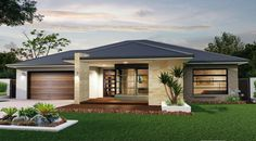 Facade house - The Lancaster the Abode Collection This regal abode awaits you with its effortless style and executive features Immerse yourself in elegant living weeksbuilding home house facade design Bedroom House Plans, Dream House Plans, Modern House Plans, Small House Design, Modern House Design, Modern House Facades, Modern Bungalow House, Bungalow Floor Plans, Facade Design