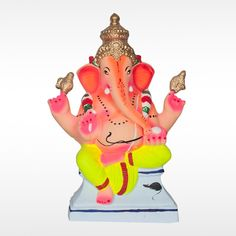 Make this #GaneshChaturthi  more auspicious with this unique Eco-friendly #VakrutundaYedamuriGanesh  Idol made with organic clay and natural colors.  Get 20% off for orders on or before 1st Sept. Hurry Up! Limited Offer!
