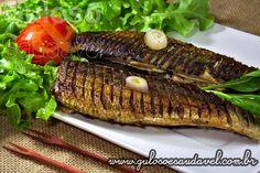 Quer uma receita fácil, rápida, econômica e saudável para o #almoço? Bora preparar uma deliciosa Sardinha Grelhada!  #Receita aqui: http://www.gulosoesaudavel.com.br/2013/06/25/sardinha-grelhada/