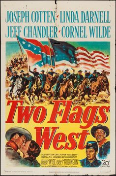 Movie Posters:Western, Two Flags West & Others Lot (20th Century Fox, 1950). Image #1