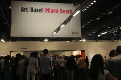 Art Basel Miami Beach VIP Preview Entrance, all photos on site for Art Observed by Erica Schwartzberg
