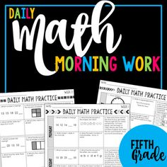 Struggling to build mastery with critical mathematics concepts like fractions, decimals, and problem solving? There are so many math standards in fifth grade that it can be difficult to cover them all and support regular review during the class time available.