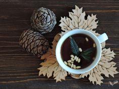 Чай для осени: «Кедровый». Как сделать: goo.gl/IWsxLl  #чай, #чаепитие, #tea, #teatime, #tealover