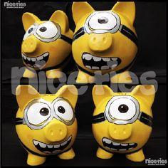 Minion piggy bank - hilarious!