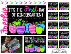 Freebie to use for your back to school pictures