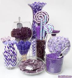 Great site for candy buffets! Can search by color, size, theme, etc. Super cool site. Of course after I've purchased my candy.