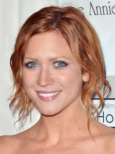 Brittany Snow- love this color