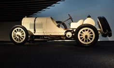 1908 Mercedes 1st Place French Grand Prix 1908 driven by Christian Lautenschlager a test Driver for Mercedes.
