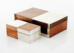 JUNIN BOXES · wood and alpaca panel · AIREDELSUR