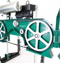 HM126 Petrol Sawmill | Woodland Mills Europe