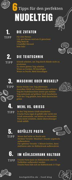 6 Tipps für den perfekten Nudelteig.