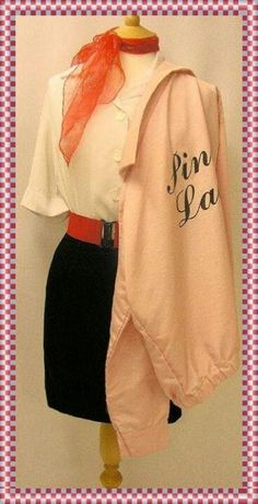 50's style.  Pink Lady. Grease.