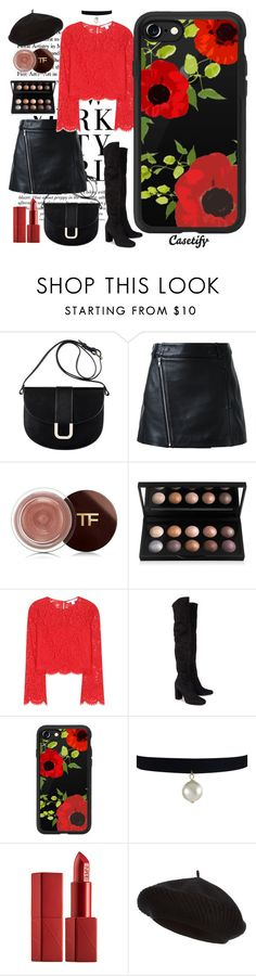 """Santa Baby 🎅🏼"" by casetify ❤ liked on Polyvore featuring A.P.C., Dion Lee, Diane Von Furstenberg, Yves Saint Laurent, Casetify, NARS Cosmetics and Harrods"