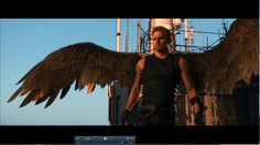 Caine's Wings. The best part of the movie and we only got like 72 seconds of it! Jupiter Ascending