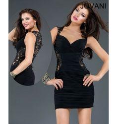 $278.00 Jovani Short Dress at http://viktoriasdresses.com/ Through John's Tailors