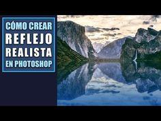 Cómo crear un reflejo de agua realista en Photoshop - YouTube