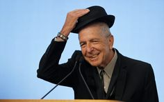 11/11/16 - RIP - Musician Leonard Cohen tips his hat to the audience as he accepts the 2012 Awards for Song Lyrics of Literary Excellence, which was awarded to both he and Chuck Berry at the John F. Kennedy Presidential Library and Museum, in Boston, Massachusetts February 26, 2012 REUTERS/Jessica Rinaldi (UNITED STATES - Tags: ENTERTAINMENT) - RTR2YHQ8