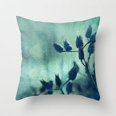 Layered Dreams Throw Pillow