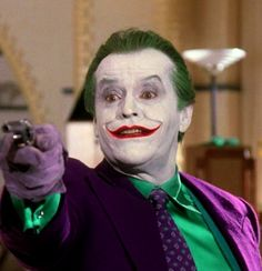 DC Comics in film n°8 - 1989 - Batman - Jack Nicholson as The Joker