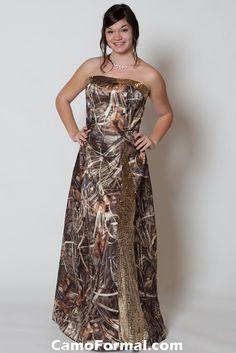 Camo n sequins :) Love it!!! Wish i had somewhere to wear my camo prom dress again. lol