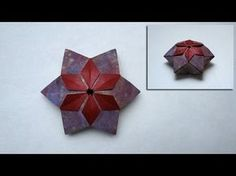 Christmas Origami Instructions: Pelleas Box (Peter Keller) - YouTube