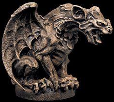 Gargoyle statue gothic_neat statue_dragon